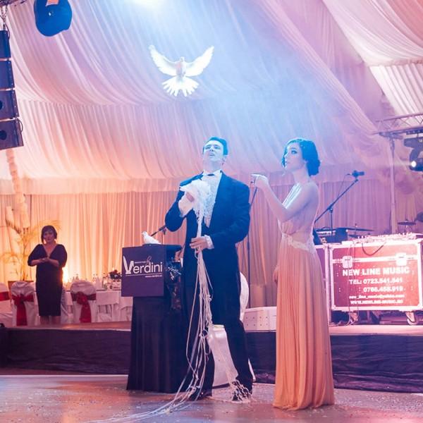 Nuntă și botez cu Magicianul Verdini