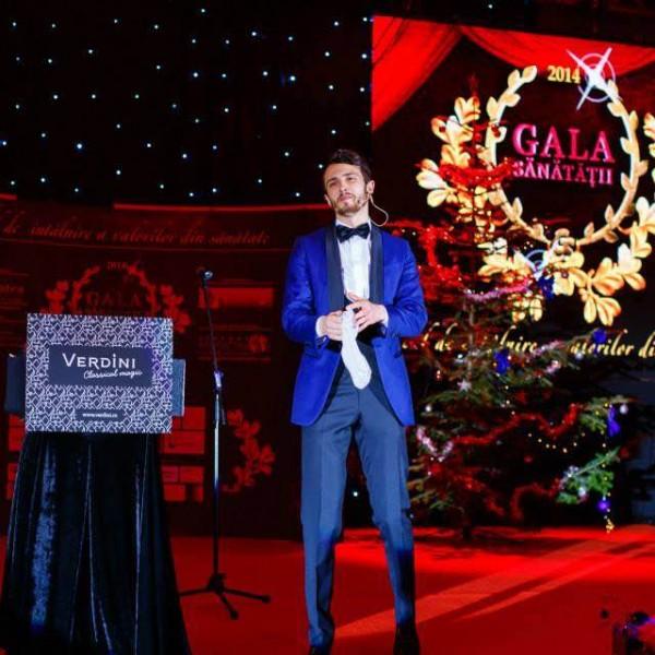 Magicianul Verdini la Gala Sănătății 2014